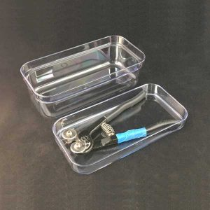 Clear Container with Tray Lid